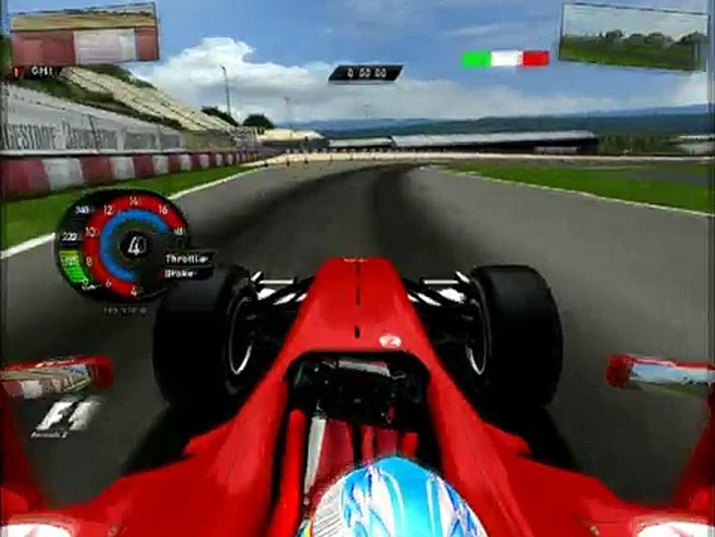 Rfactor Mod f1mg 2010+ TV STYLE 2010! G25 Test 102° Fernando Alonso Ferrari Spain Catalunya 2010.