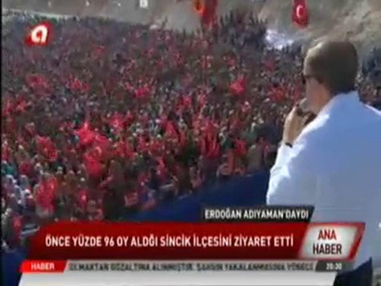 Nissibi Köprüsü Açılışı - Cumhurbaşkanı Recep Tayyip Erdoğan ve Ahmet Aydın