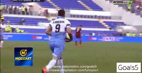 Filip Djordjevic Goal Lazio 1 – 1 AS Roma