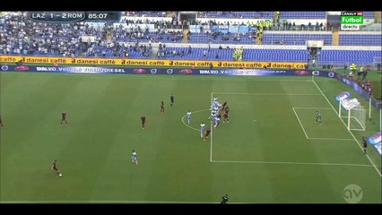 1-2 Yanga Mbiwa Goal – SS Lazio vs AS Roma