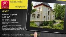 A vendre - propriété - WIMEREUX (62930) - 11 pièces - 342m²