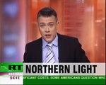 Norway Ufo spiral lights in norwegian sky - aliens or terrorist attack?