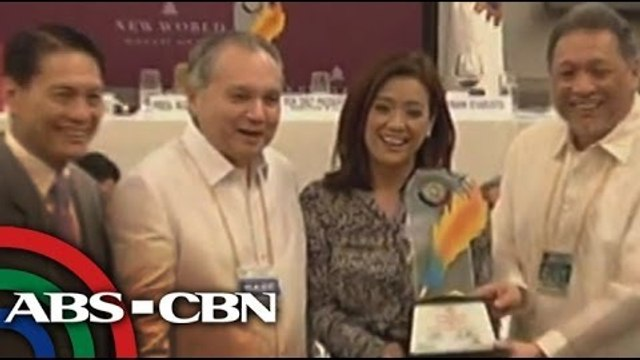 Rotary Club awards media members of ABS-CBN