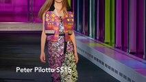 Peter Pilotto   SS15 at London Fashion Week