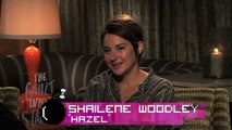 Shailene Woodley & Ansel Elgort on their favorite Fault quotes!