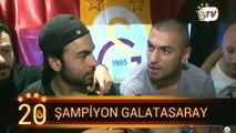 İşte Galatasaraylı futbolcuların şampiyonluk sevinci!