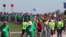 2012 Flash mob olympique au Cap Gris-Nez