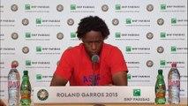 "Roland-Garros - Monfils : ""J'étais serein"""