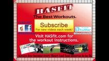 5 Minute Oblique Workout - Loose Love Handles Workouts - HASfit Love Handles Exercises for Obliques