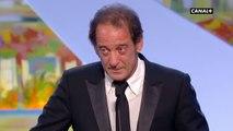Discours de Vincent Lindon (Festival de Cannes 2015)