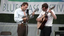 """Chris Thile and Michael Daves, """"Fiddle Tune Medley,"""" Grey Fox 2012"""