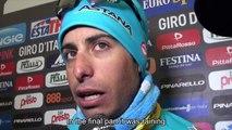 Giro dItalia 2015 - stage 14: Alberto Contador and Fabio Aru post race interview