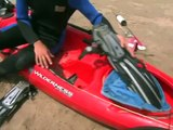 Kayak Scuba Diving : Removing Kayak Scuba Diving Gear