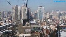 남산케이블카, Korea Tour, Seoul Tour, 왕복 동영상, N서울타워, N Seoul Tower, 서울여행, 한국여행, Mt. Namsan Cable Car Ride