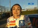 Rallye Jeunes Volant 206 Camera embarquee motors TV