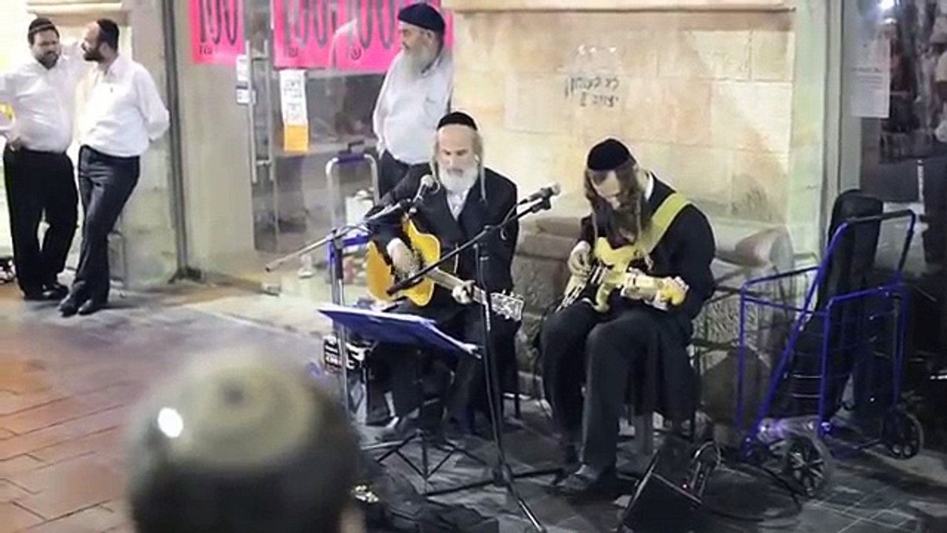 Jewish Musicians singing The Eagles'