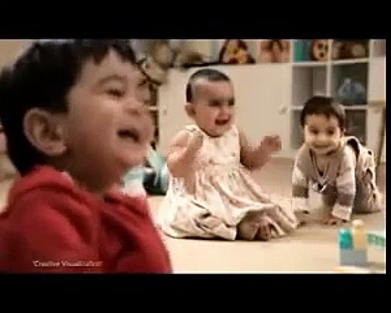 Kit Kat Dancing Kids TV Commercial  ထူးဆန္းဟာသ