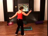 Basic Step Aerobics & Workout Routines : Combination Move in Basic Step Aerobics