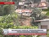 Landslide threatens Antipolo village