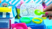 Peppa Pig Giochi Per Bambini, Come fare Cupcake di Peppa Pig con Play Doh, Peppa Pig itali