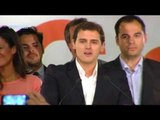 """24M (Reacciones): Albert Rivera dice que """"Ciudadanos es hoy la tercera fuerza municipal de España"""""""