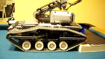 LEGO AARM - Autonomous Augmented Robotic Manipulator - Robotic Mobile Tracked Arm