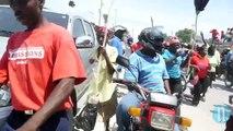 Martelly Manifestation contre Manifestation