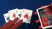 4 ACE TRICK REVEALED   MAGIC TRICKS REVEALED   MAGIC TRICK WITH CARDS   Beginner Magic