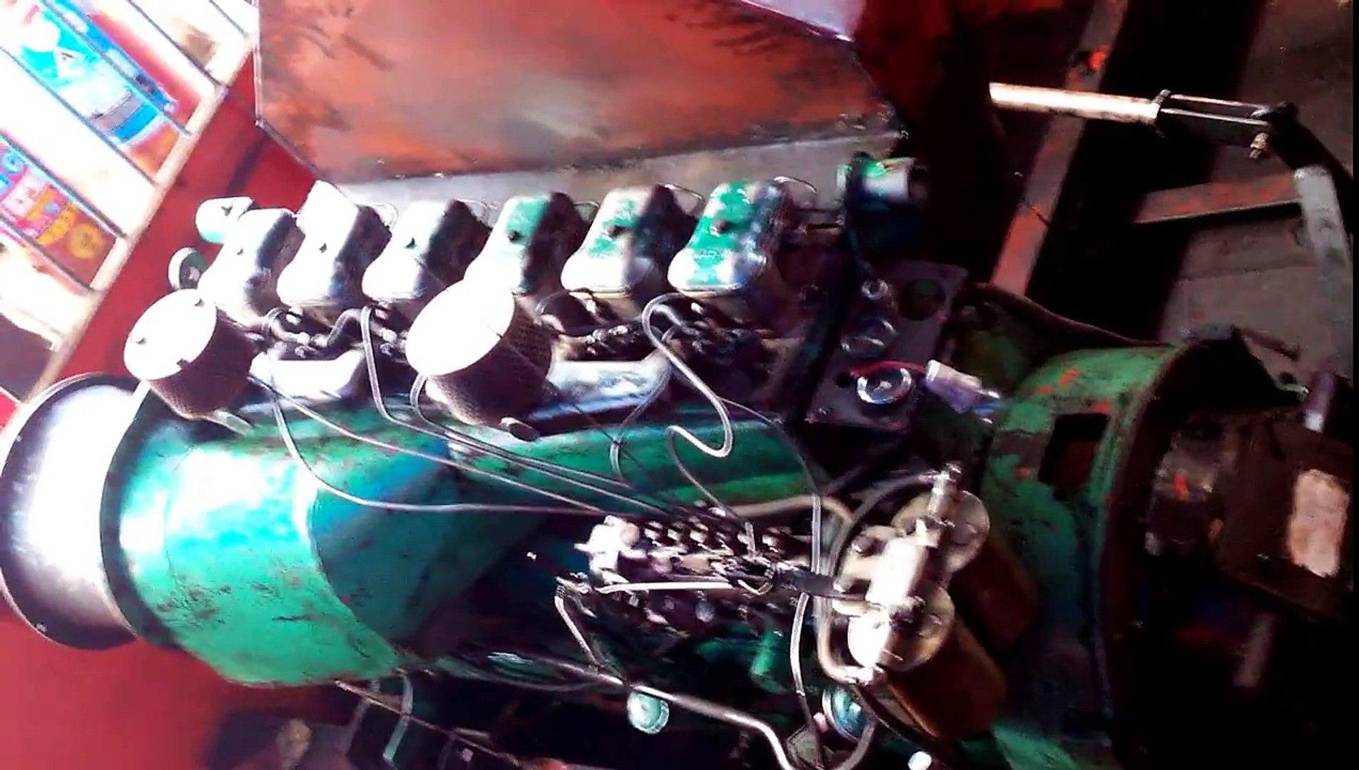 ZUARI PNJ-462 Ferry RUSTON & HORNSBY (INDIA LTD...) 6YDAXM-(MK.2) Engine Room In Action...