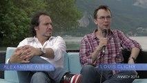 """Annecy 2014 - Alexandre Astier et Louis Clichy """"Astérix: le Domaine des dieux"""""""