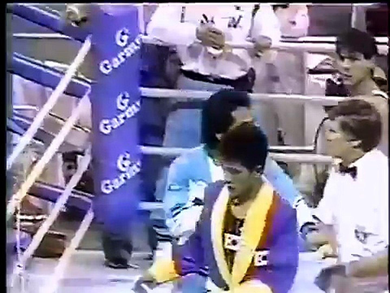 1988 ソウルオリンピック ボクシング乱闘 1988 Seoul Olympic boxing brawl