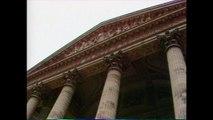 1981 : Visite de François Mitterrand au Panthéon.