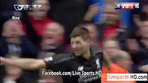 Steven Gerrard Last Goal with Liverpool | Stoke 5 - 1 Liverpool