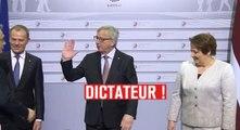 «Dictateur !», l'accueil décontracté du Premier ministre hongrois par Jean-Claude Juncker