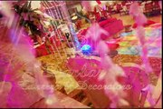 Wedding Planners in Karachi, Sunset Club DHA Banquet Hall, pink mehndi setup