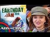 Lou Bonnevie promotes '2014 Earth Day Jam'