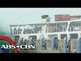 Passengers from provinces arrived at Batangas Port