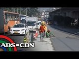 Heavy traffic seen amid weekend road reblocking