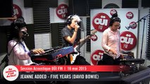 Jeanne Added - Five Years (David Bowie) - Session acoustique OÜI FM
