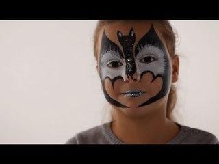 Maquillage Chauve Souris - Tutoriel maquillage enfant facile