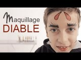 Maquillage Diable - Tutoriel maquillage enfant facile