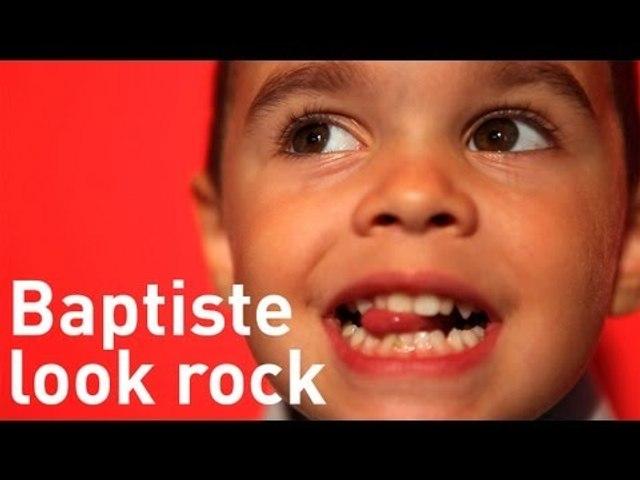 Look enfant rock - Le Relooking de Baptiste