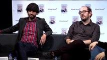 Entrevista a Borja Cobeaga y Diego San José por el libro 'Venirse arriba'