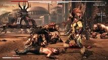 Mortal Kombat X - Kotal Khan dominates Johnny Cage - Gyaku Ryona Male on male (gay oriented)