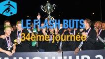 Championnat National 2014-2015 - 34ème journée - Les buts