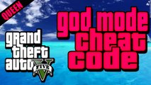 GTA 5 Cheats GOD MODE CHEAT CODE  Invincibility Cheat PS3 Xbox 360