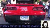 2016 Corvette C7 Stingray Z51 stock exhaust sound in sport