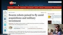 US Military shows off its new Nano-Drones & Swarm robots !