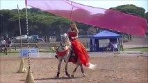 Spectacle Equestre : *Rouge Mécanique Mélodie*