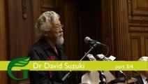 David Suzuki Keynote speech to Green Party Sustainable Economics Conference (part 3/4)
